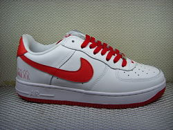 NIKE AIR FORCE 1 RED/WHITE