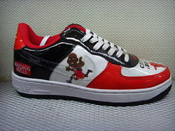 NIKE AIR FORCE 1- CHICAGO BULLS
