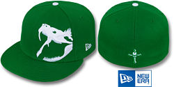NEW ERA RATTLER KELLY-WHITE FITTED CAP